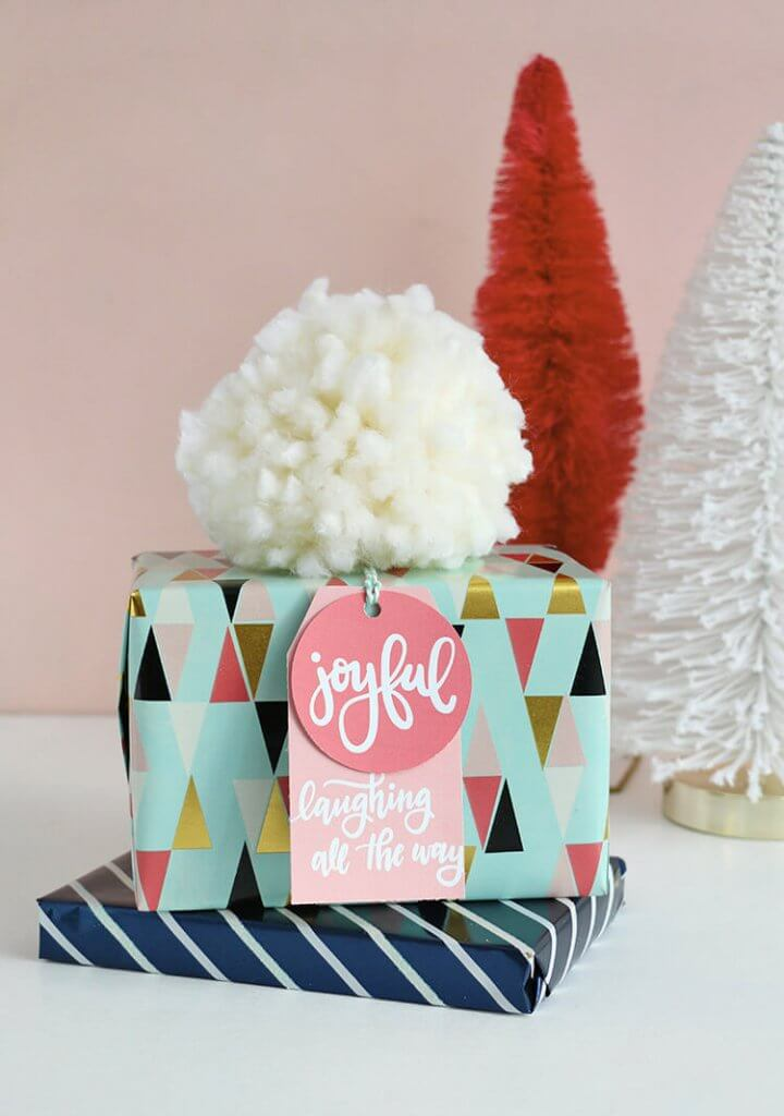 Hand Lettered Free Printable Christmas Gift Tags