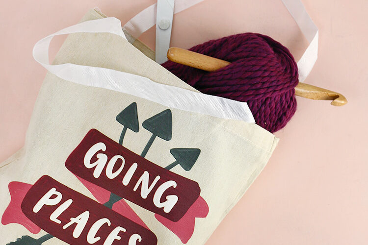 DIY Tote Bag and Stepping Forward with Confidence