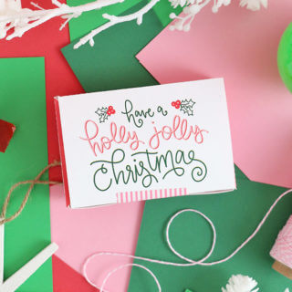 Free Printable Gift Card Box