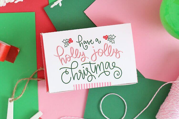 Free Printable Gift Card Box