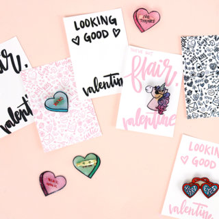 How to Make Pins for Valentine's Day (with Free Printables!)