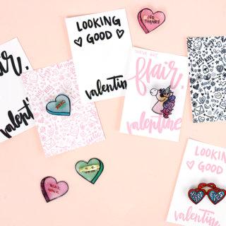 how to make pins - cute valentine's idea