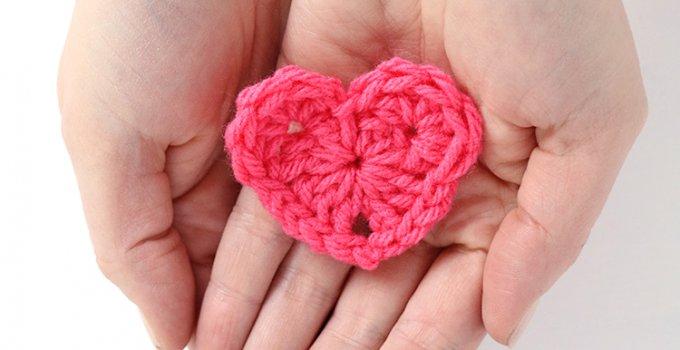How to Crochet a Heart – Free Crochet Heart Pattern