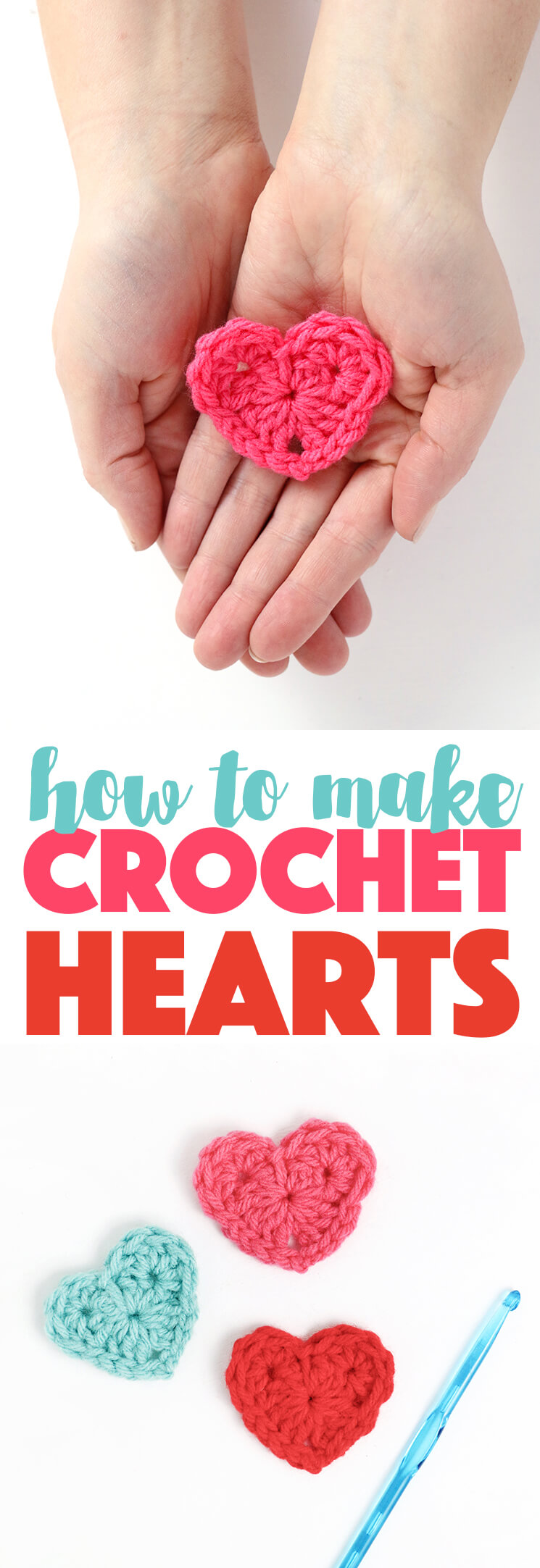 How to crochet a heart free crochet heart pattern persia lou how to crochet hearts simple crochet heart free pattern makes the cutest little hearts bankloansurffo Images