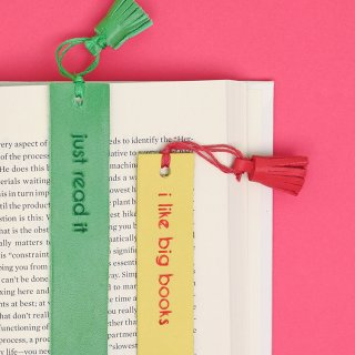 DIY Leather Bookmarks: How to Emboss and Cut Leather with the Silhouette Curio