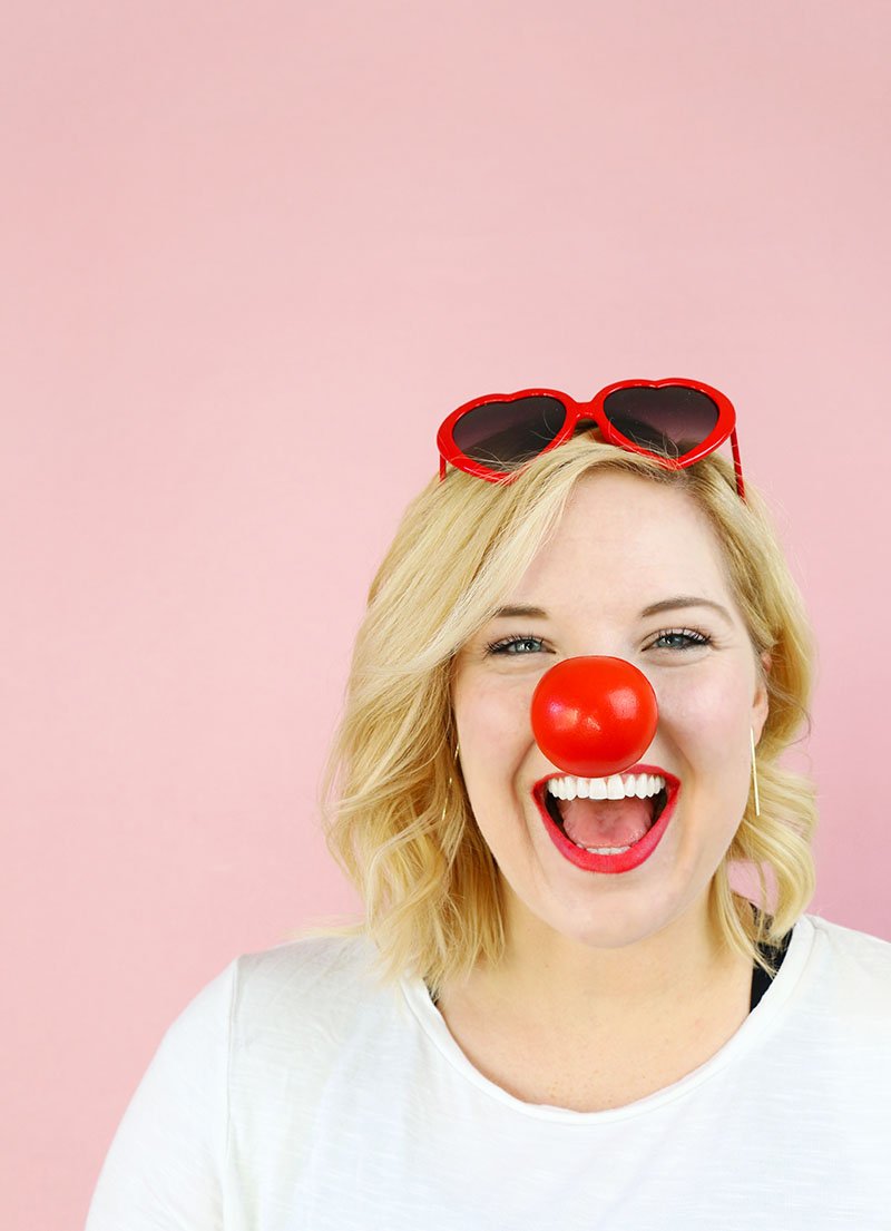 how to get healthy when you have a red nose