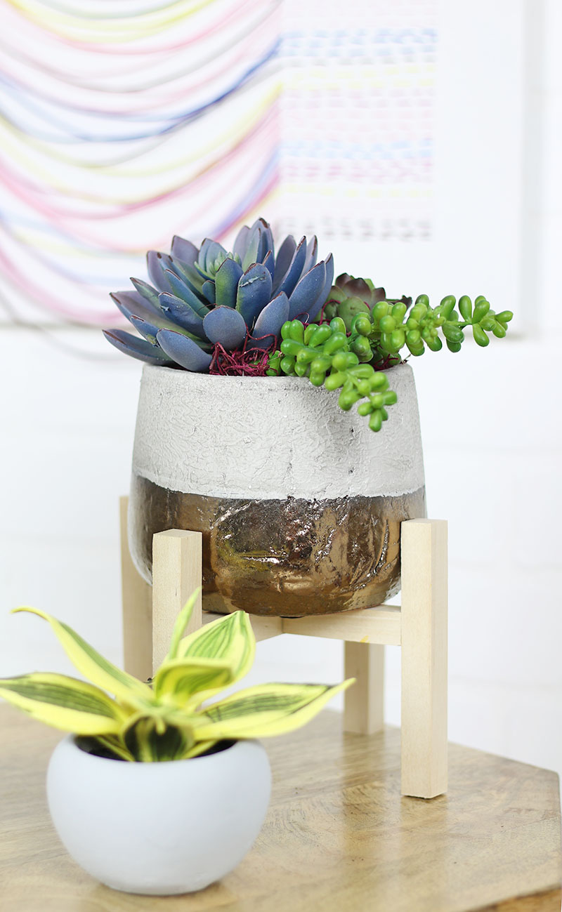 Diy Mini Plant Stands Persia Lou
