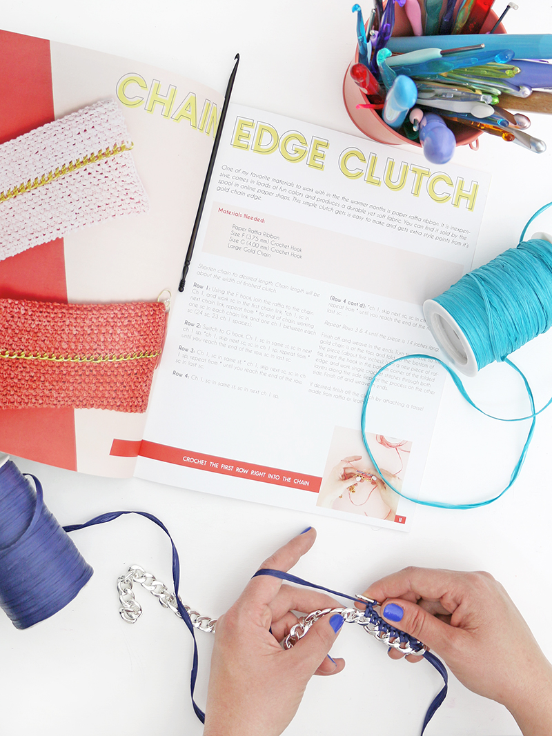 summer crochet patterns mini book - how to design and print your own magazine