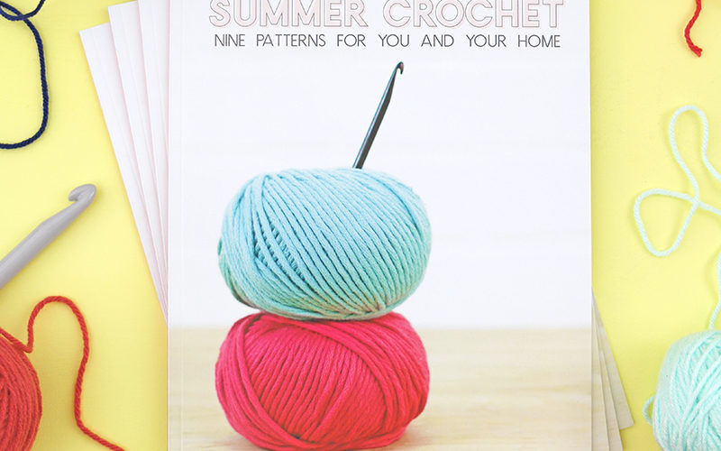 How to Make and Print Your Own Magazine: My Summer Crochet Pattern Book