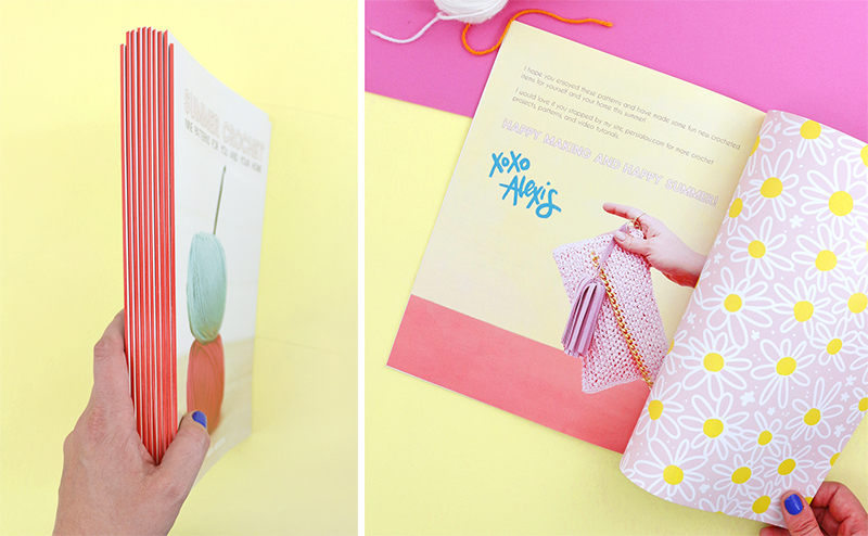 Summer Crochet Patterns - how to design and print your own magazine