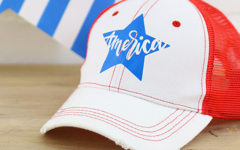 Free Hand Lettered Patriotic Cut Files for the Silhouette