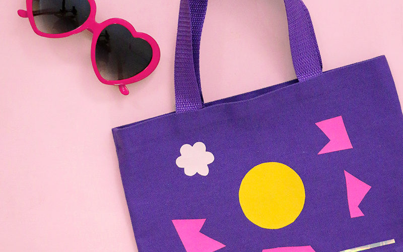 Kids Craft Idea: Easy and Mess Free Tote Bag Craft
