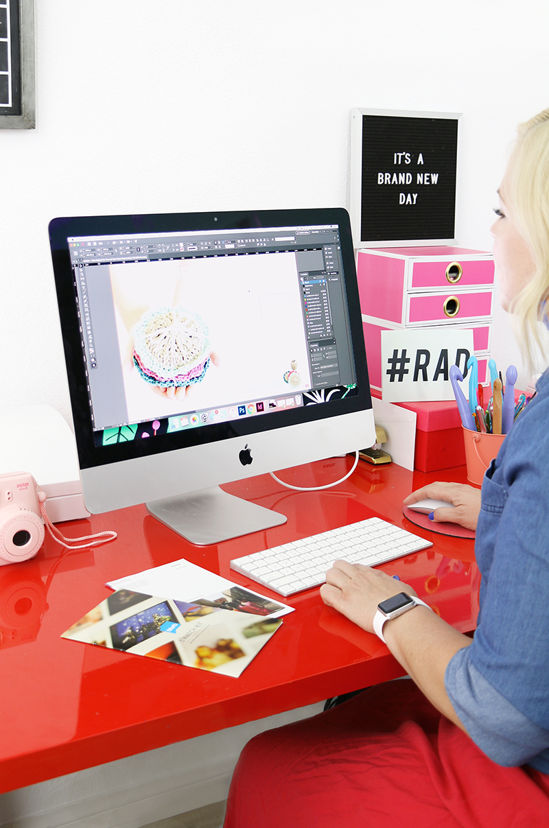 how to design and print your own magazines
