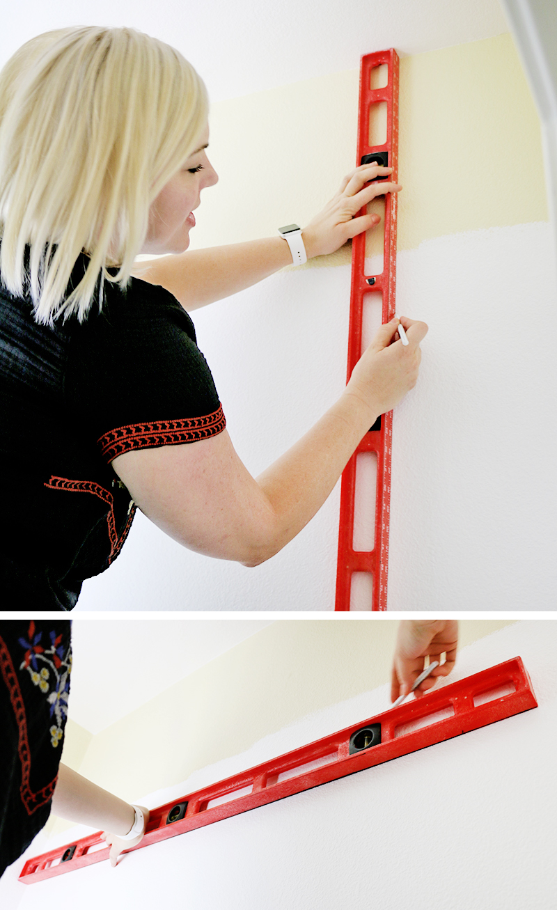 measure and mark - how to paint perfect lines