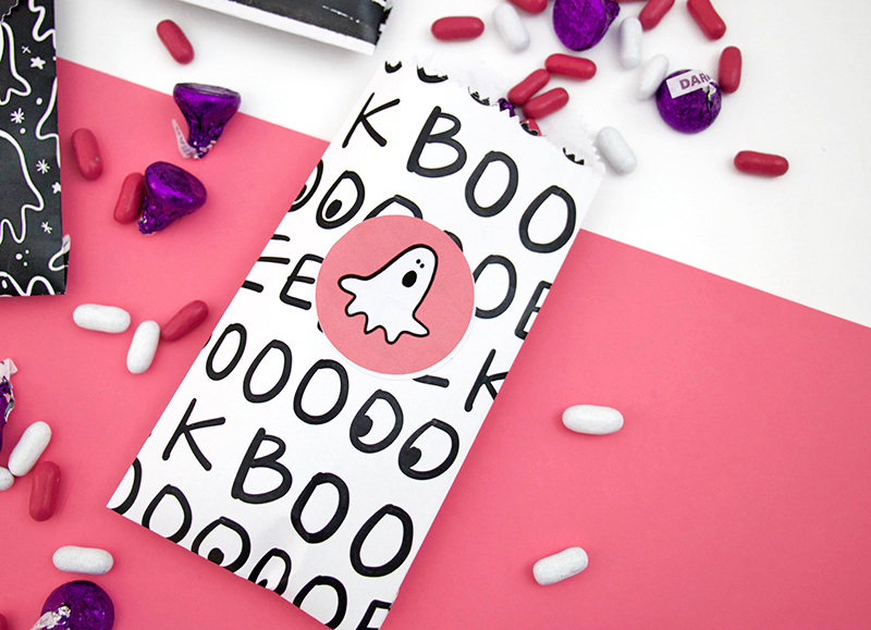 halloween diy printable treat bags