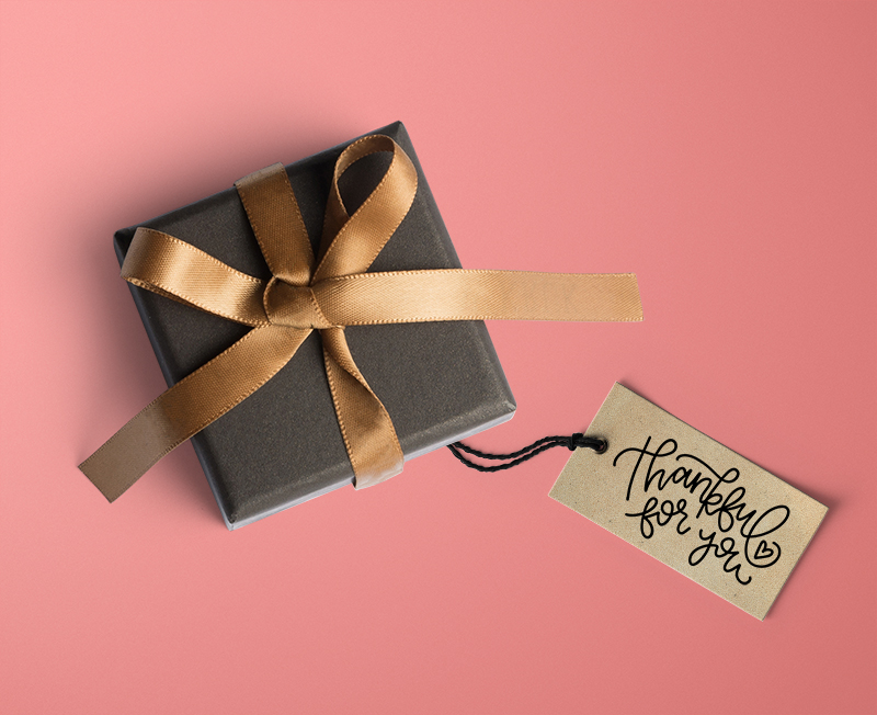 thankful for you tag - thanksgiving svg cut file