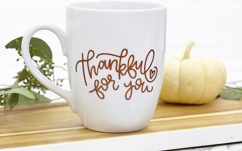 Thankful For You: Free Thanksgiving SVG Cut File