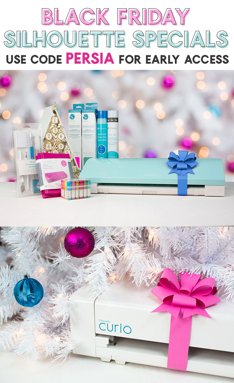 silhouette cameo black friday deals - don't miss these bundles