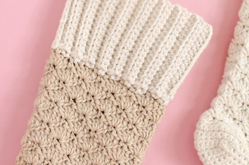 Crochet Christmas Stocking Free Crochet Pattern Persia Lou