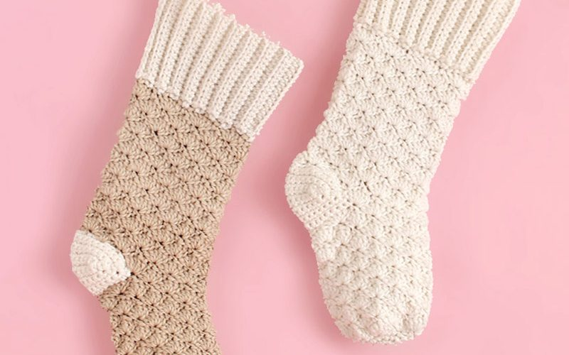Crochet Christmas Stocking – Free Crochet Pattern