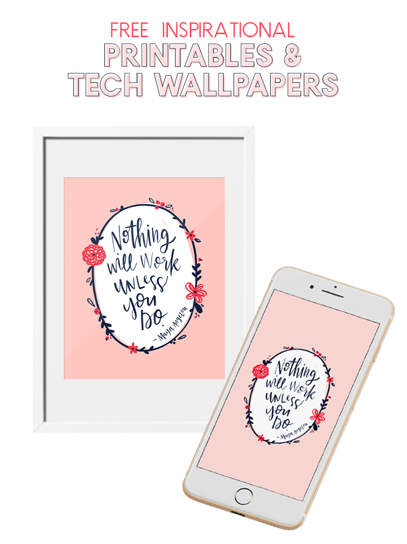nothing will work unless you do free printables and tech wallpapers
