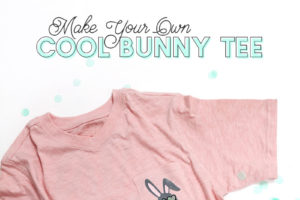 How to Layer Heat Transfer Vinyl: Cool Boys Easter Shirt DIY