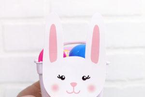 Free Easter Bunny Basket Printables