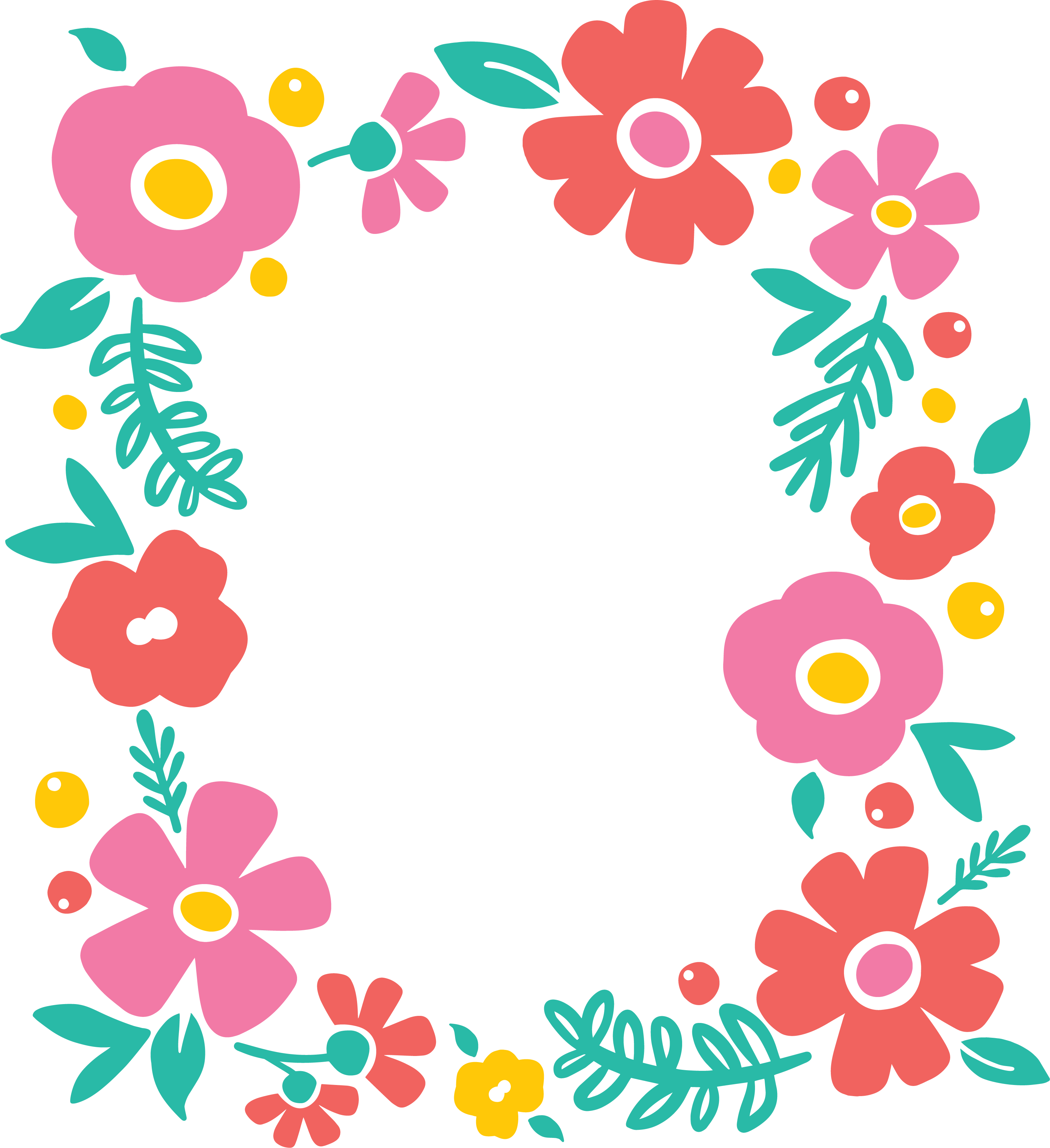Free svg flower cut file for silhouette or cricut persia lou floral frame png izmirmasajfo