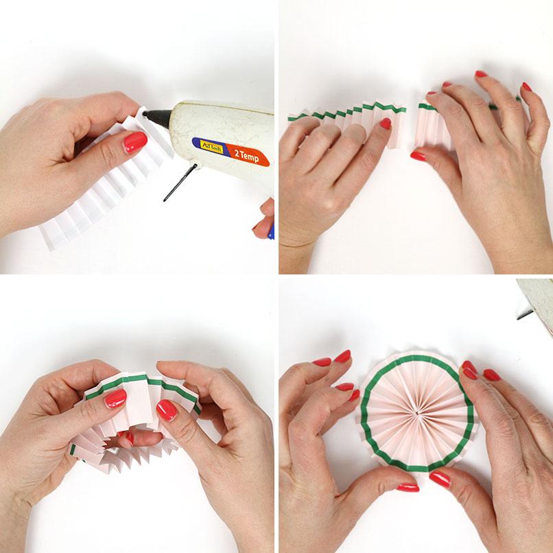 form paper rosette