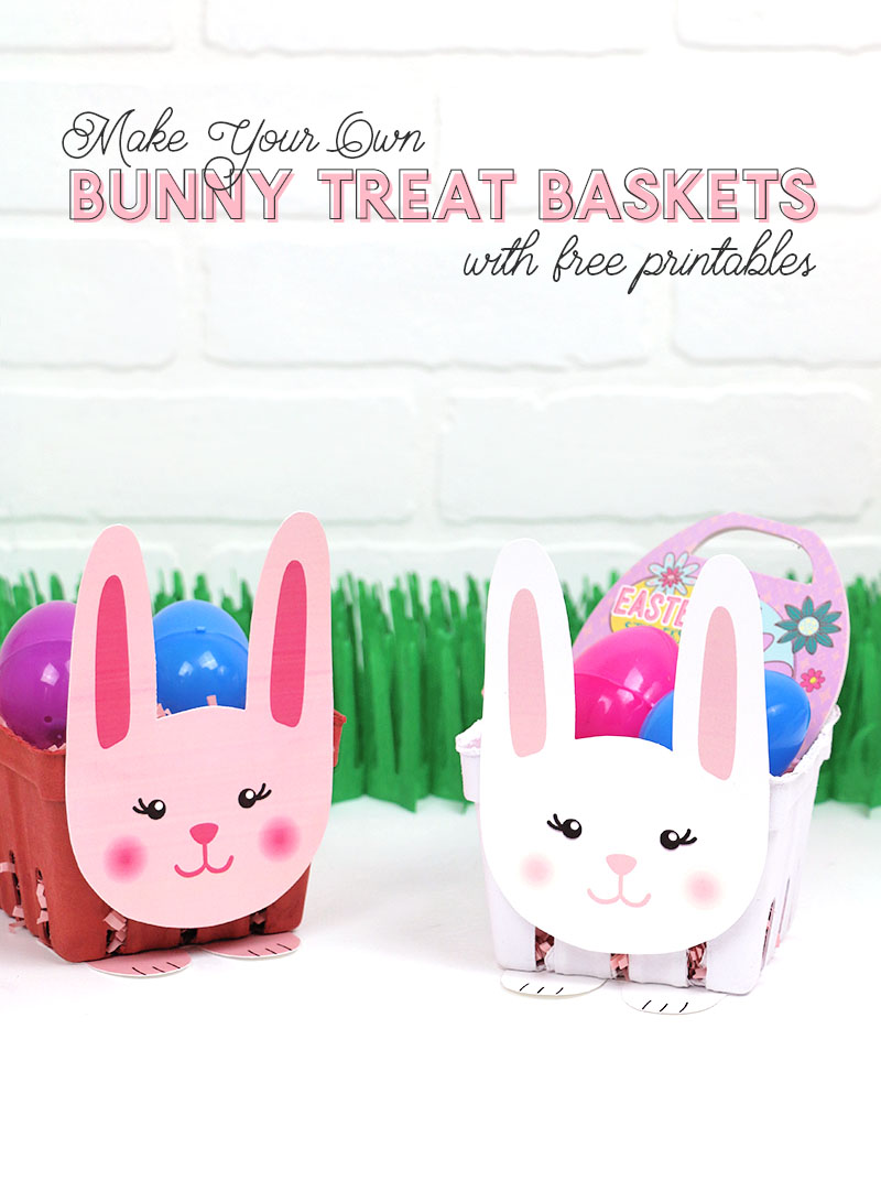 printable easter bunny basket