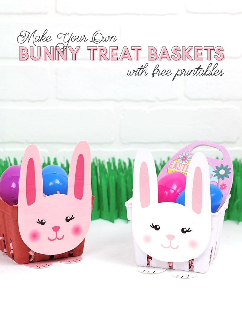 printable easter bunny basket