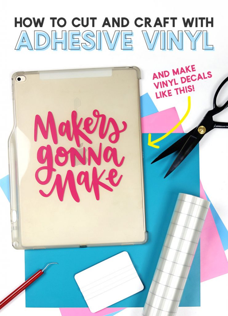 How to Use Adhesive Vinyl - A Beginner's Guide to Cutting and Applying Vinyl Decals