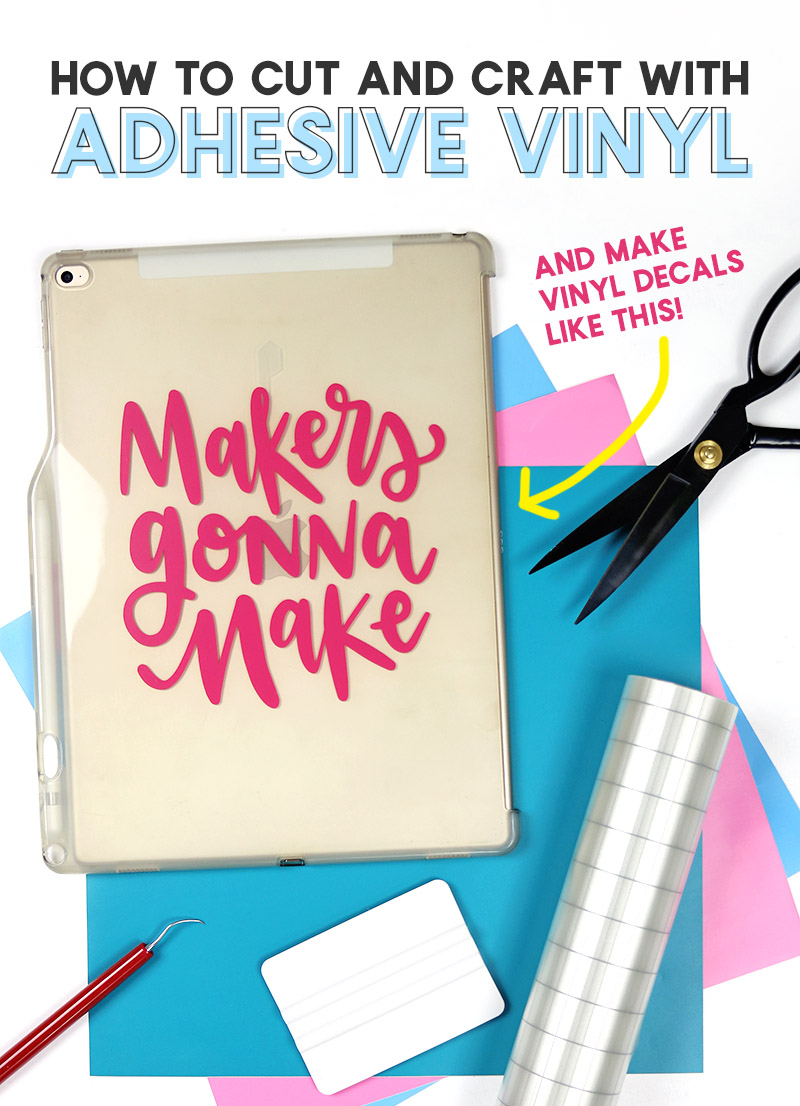 How To Use Adhesive Vinyl A Beginners Guide To Cutting And