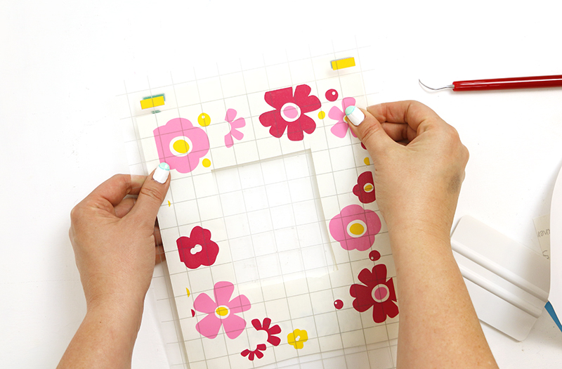 layering vinyl free flower cut files