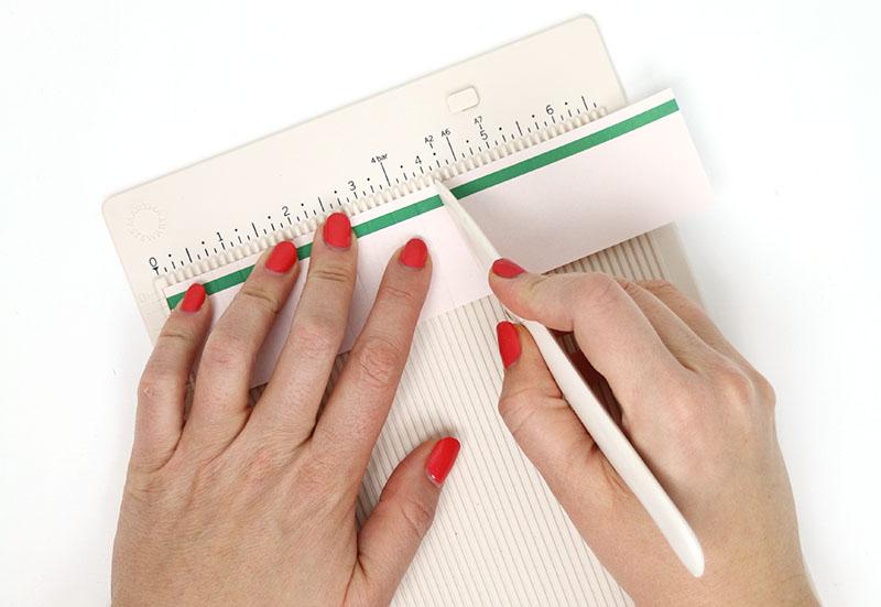 scoring paper rosette