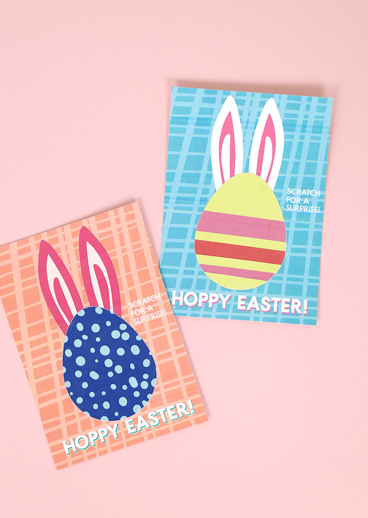 printable easter scratch off cards