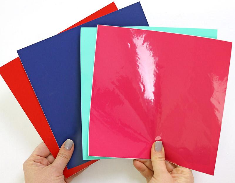 sheets of craft vinyl