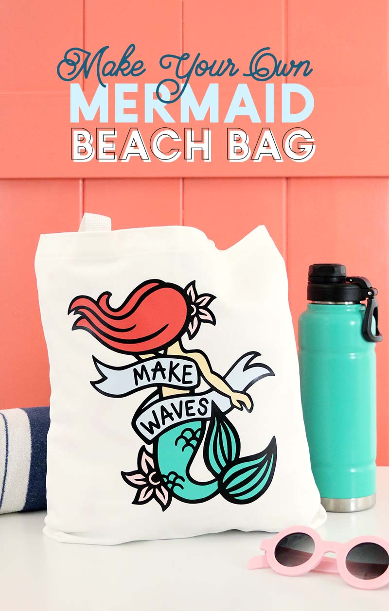 diy mermaid bag