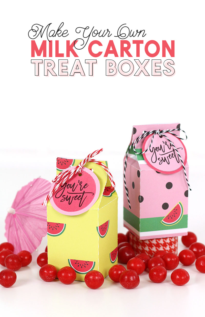 Looking For A Simple Little Party Favor Or Small Gift Packaging Idea Then You Are In The Right Place I Love Cute Box And Today Am Going To