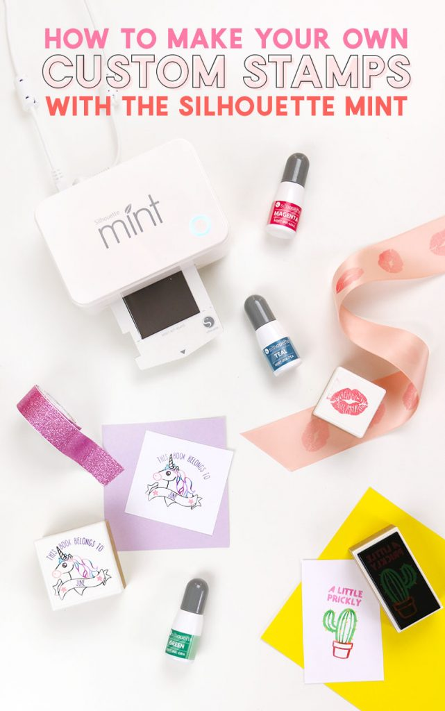 Learn how to make your own stamp with the Silhouette Mint stamp making machine. This Silhouette Mint video tutorial will walk you through all the steps of getting started with the Mint.