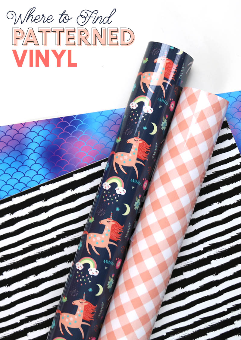 where to find patterned vinyl