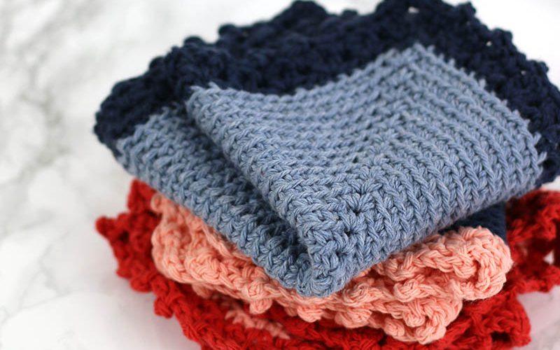 Free Crochet Dishcloth Pattern: The Cottage Dishcloth