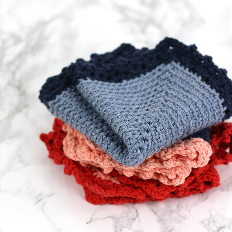 Free Crochet Dishcloth Pattern: The Cottage Dishcloth