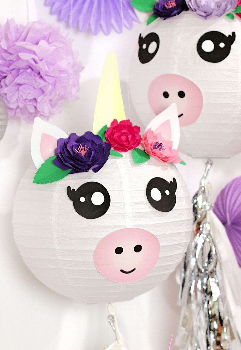 A Cute and Colorful DIY Unicorn Party with Goblies Paint ...