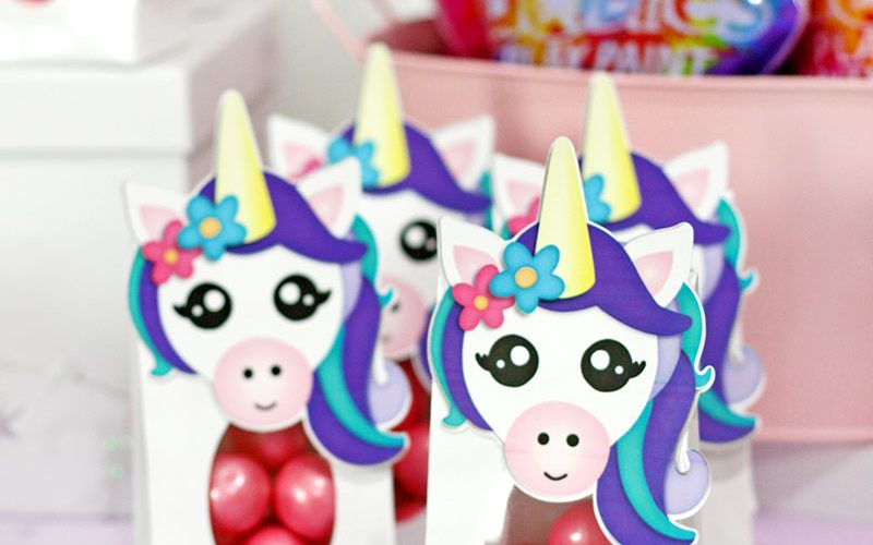 DIY Unicorn Party Favors: Free Printables!