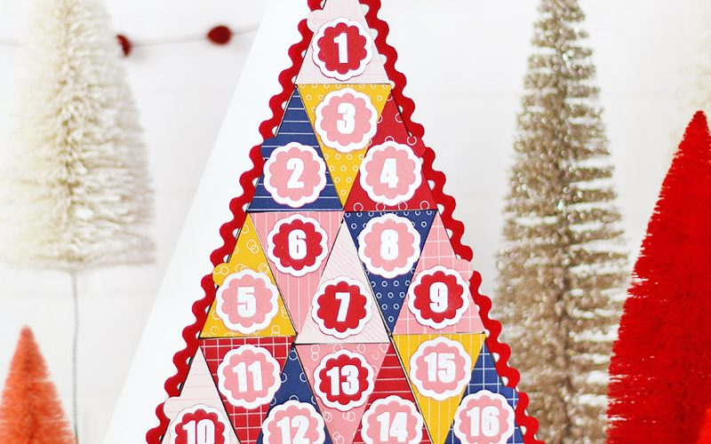 How to Make a Silhouette Advent Calendar