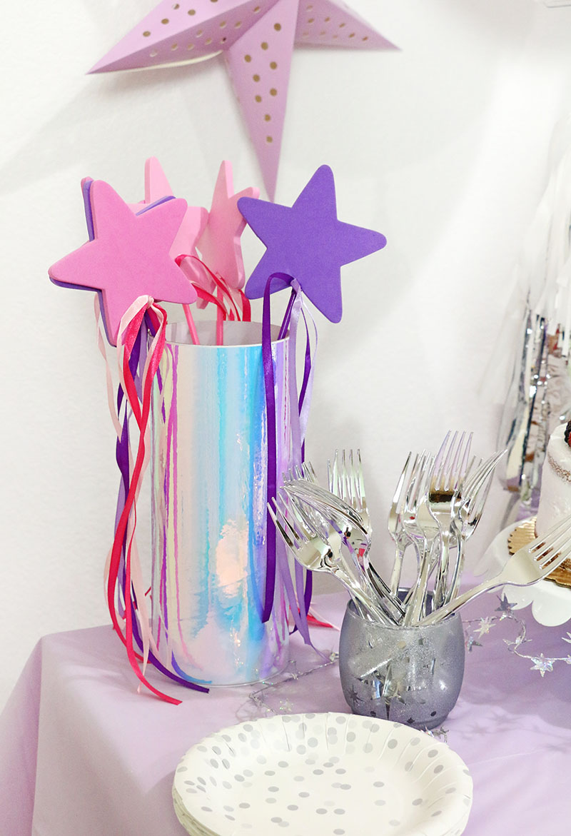 unicorn party decorations wands