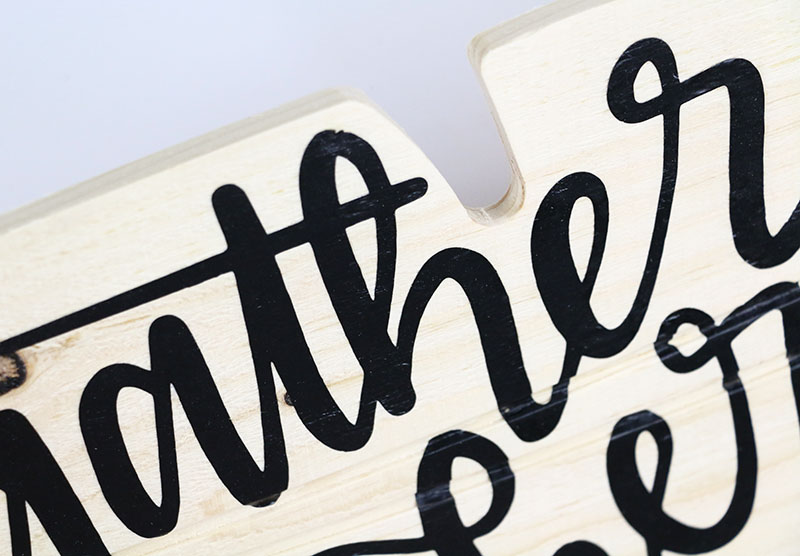 Diy Gather Here Sign With Free Cut File Persia Lou