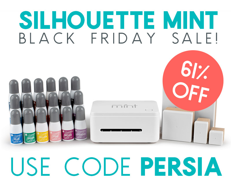 silhouette mint black friday sale 2018 bundle