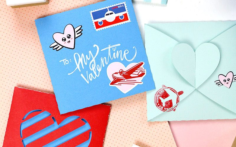 DIY Heart Tab Envelopes and Boxes
